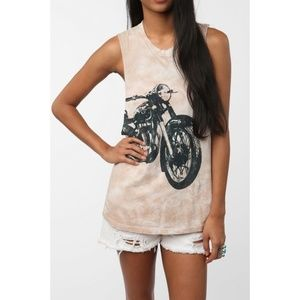 UO Truly Madly Deeply Motorbike Tank Motorcycle XS